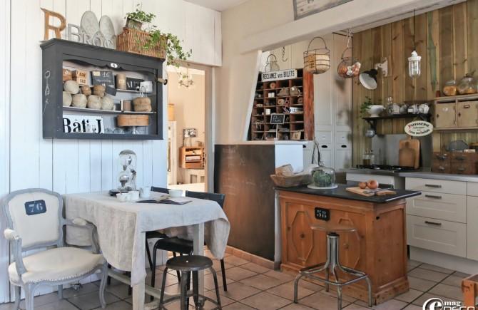 Architecture brocante cuisine architecturecuisine architecture - Cuisine style brocante ...